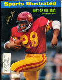10/1 1973  Sports Illustrated Anthony Davis USC  SIGNED AUTOGRAPH