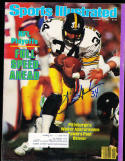 1/7 1985 Sports Illustrated Walter Abercrombie Pittsburgh Steelers signed label