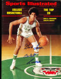 1972 11/27 Walter Luckett Ohio no label newsstand Signed sports Illustrated