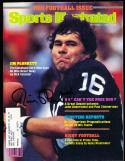 9/7 1981 Sports Illustrated Jim Plunkett Raiders signed label