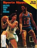 1972 2/7 Walt Frazier Knicks  Signed sports Illustrated