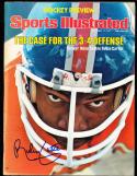 1977 10/11 Rubin Carter Broncos Sports Illustrated SIGNED No label newsstand