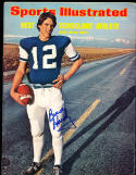 4/29 1974  Sports Illustrated Bruce Hardy no label  SIGNED AUTOGRAPH