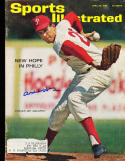 1963 4/29 Art Mahaffey Philadelphia Phillies signed sports Illustrated ex