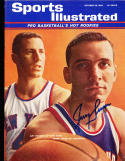 1963 10/26 Jerry Lucas Cincinnati Royals no label Signed sports Illustrated