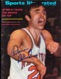1970 5/18 Dave DeBusschere Knicks No Label newsstand Signed sports Illustrated