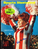 1/2 1967  Sports Illustrated Kity McManus Nebraska No label  SIGNED AUTOGRAPH