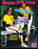 1984 4/16 Graig Nettles Padres signed sports Illustrated no label newsstand