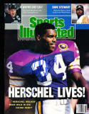 1989 10/23 Herschell Walker Vikings sports Illustrated  SIGNED psa/dna
