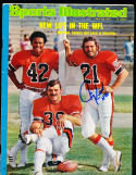 7/28 1975  Sports Illustrated Jim Kiick WFL Memphis no label  SIGNED AUTOGRAPH