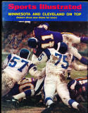 1/5 1970  Sports Illustrated Dave Osborn Vikings no label  SIGNED AUTOGRAPH