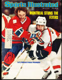 1976 5/24 Larry robinson Canadians Signed sports Illustrated