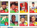Bob Lillis colts 45s  119 1963 Topps Signed