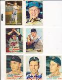 Lou Kretlow Kansas City Athletics 139 Signed 1957 Topps Card d2007
