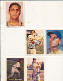 Dee Fondy  42 chicago cubs  Signed 1957 Topps Card