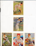 Mel Parnell Boston Red sox 313   Signed 1957 Topps Card