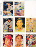 Jerry Staley chicago White Sox 227 Signed 1957 Topps Card d08