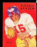 1950 11/18  USC vs Washington  football Program