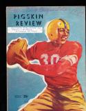 1947 10/18  USC vs oregon state football Program