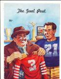 1948  11/12 USC vs oregon  football Program