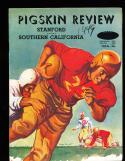 1949 11/9 USC vs Stanford  football Program