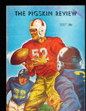 1946 USC vs Washington football Program