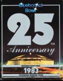 1983 Baylor vs Oklahoma State Bluebonnet Bowl Program
