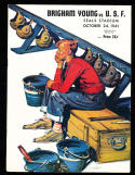 10/24 1941 BYU vs USF Football Program