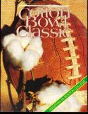 1985 Doug Flutie Houston vs Boston College Football Cotton Bowl Program