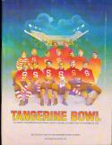 1976 Tangerine Bowl football program BYU vs Oklahoma State