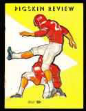 1959 11/7 USC vs West Virginia  Football Program