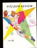1958 11/29  USC vs Notre Dame  football Program