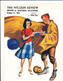 10/11 1941 Oregon vs USC Football Program