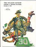 1941 11/8  USC vs stanford football Program