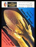 23 1968-81 University of Wisconsin Oshkosh Football Program em condition