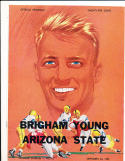 9/24 1954 ASU vs BYU Brigham Young Football Program