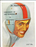 10/3 1948 USF vs Nevada Football Program
