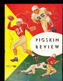 1952 USC vs Washington state  football Program