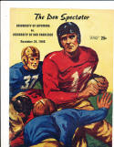 11/24 1946 Wyoming vs USF Football Program