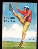 1948 9/17  USC vs Utah  football Program