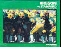 1980 9/6 Oregon vs Stanford John elway  Football Program