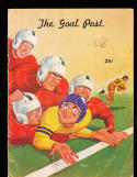 1948 10/2 UCLA vs Idaho  Football Program