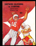 1960 10/29 USC vs stanford  Football Program