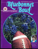 1986 Baylor vs Colorado Bluebonnet  Bowl Program
