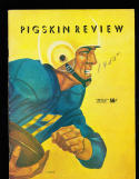 1955 9/17 USC vs Washington state  Football Program
