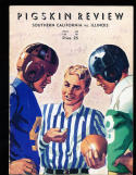 10/14 1939 Illinois vs USC Football Program