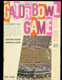 1960 12/31 gator bowl program Georgia Tech vs Texas Tech