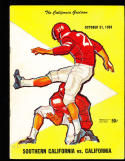 1959 10/31 USC vs Calfiornia  Football Program