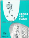 11/18 1967 Arizona vs Air Force Football Program
