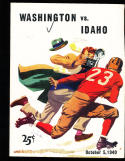 10/5 1940 Washington vs Idaho Football Program